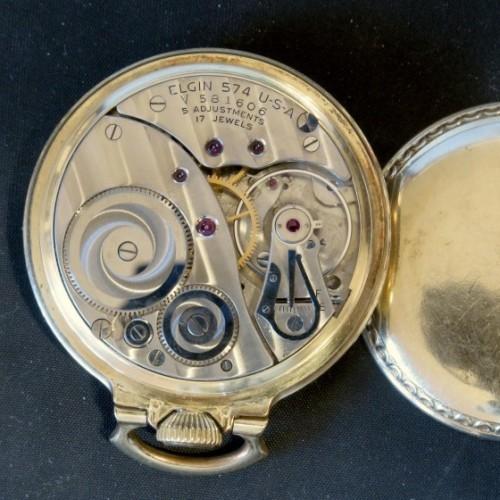 Elgin Grade 574 Pocket Watch Image