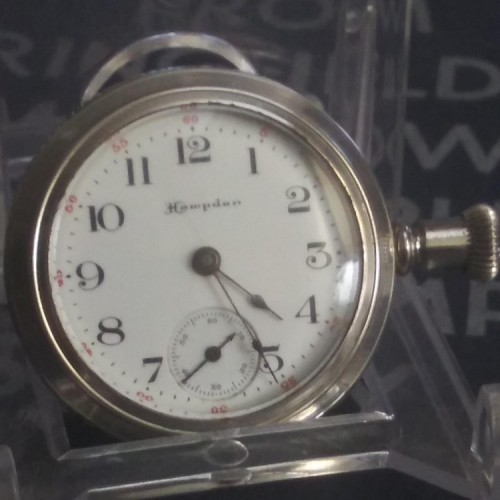 Hampden Grade The Four Hundred Pocket Watch Image