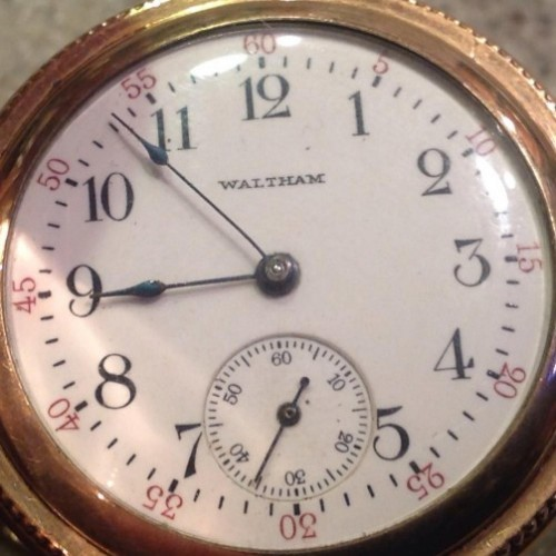 Waltham Grade No. 160 Pocket Watch