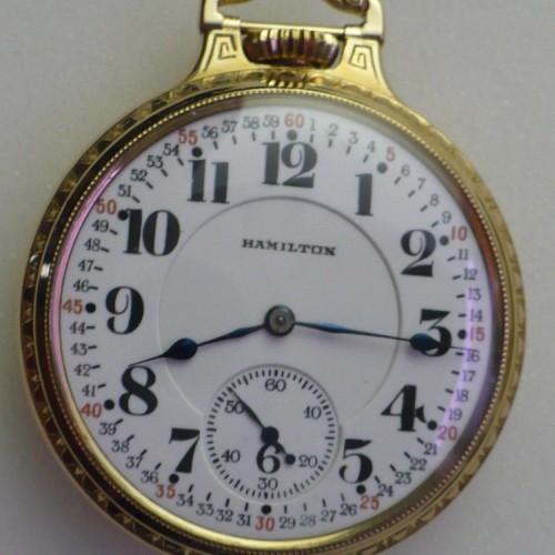 Hamilton Grade 994 Pocket Watch Image