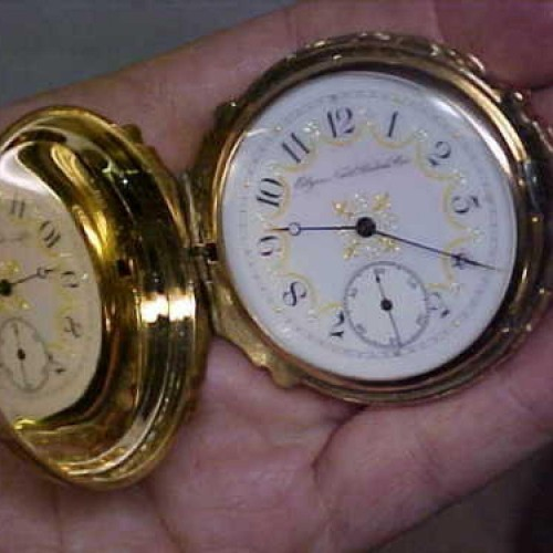 Elgin Grade 85 Pocket Watch Image