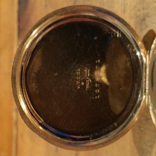 Elgin Grade 234 Pocket Watch Image