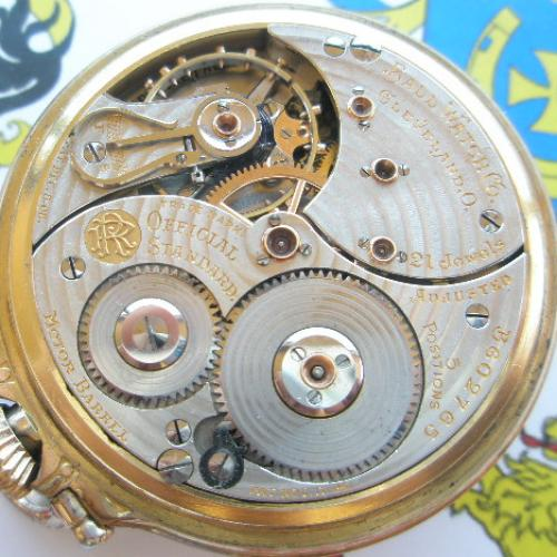 Ball - Hamilton Grade 999M Pocket Watch Image