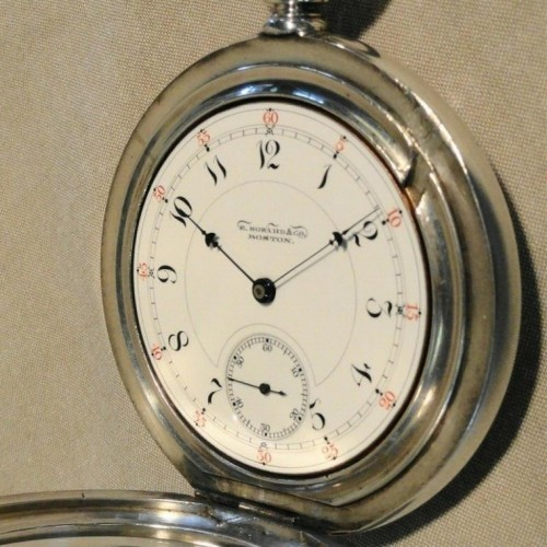 E. Howard & Co. Grade Series VIII Pocket Watch Image