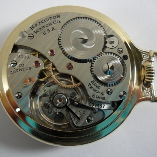 Image of Hamilton 992B #C39957 Movement