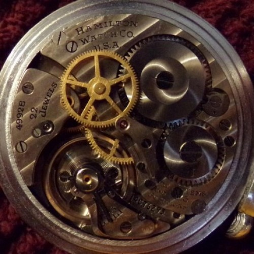 Hamilton Grade 4992B Pocket Watch Image