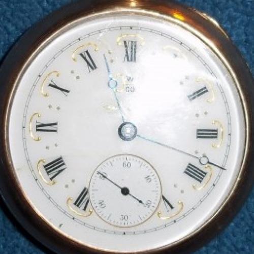 Hampden Grade No. 81 Pocket Watch Image