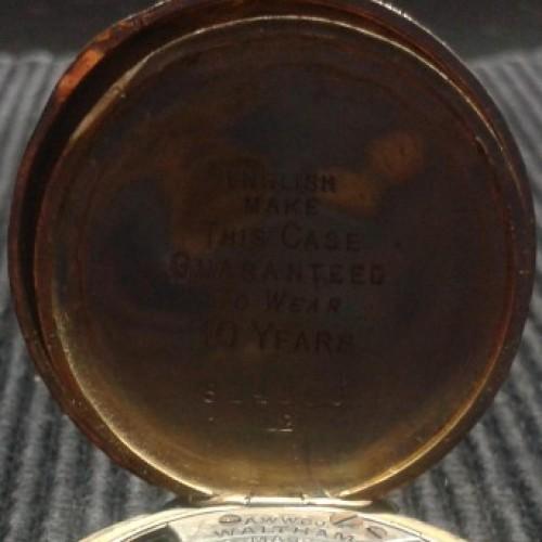 Waltham Grade No. 110 Pocket Watch