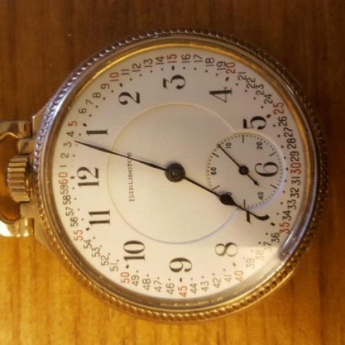 Illinois Grade 107 Pocket Watch Image