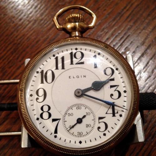 Elgin Grade 372 Pocket Watch Image