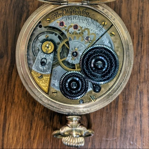 American Watch Co. Grade Royal Pocket Watch Image