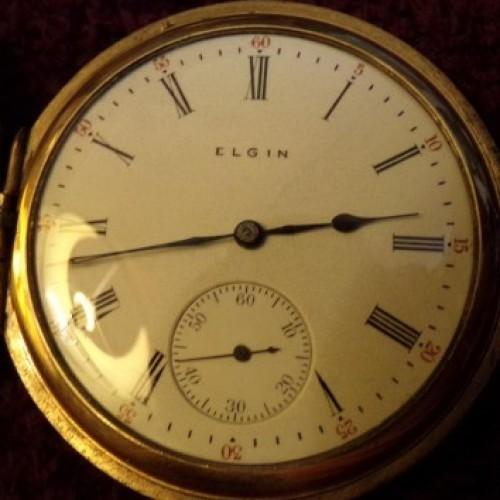 Elgin Grade 290 Pocket Watch