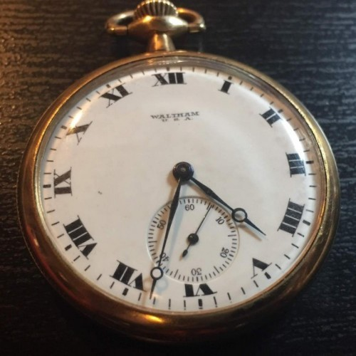 Waltham Grade No. 220 Pocket Watch Image
