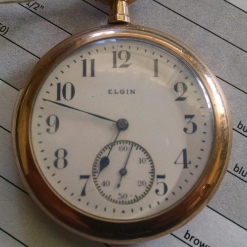 Elgin Grade 311 Pocket Watch Image