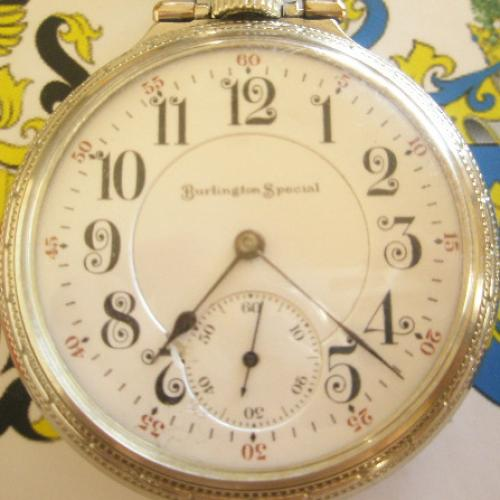 Illinois Grade 185 Pocket Watch Image