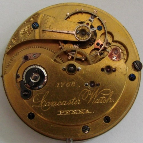 Image of Lancaster Watch Co.  #1753 Movement