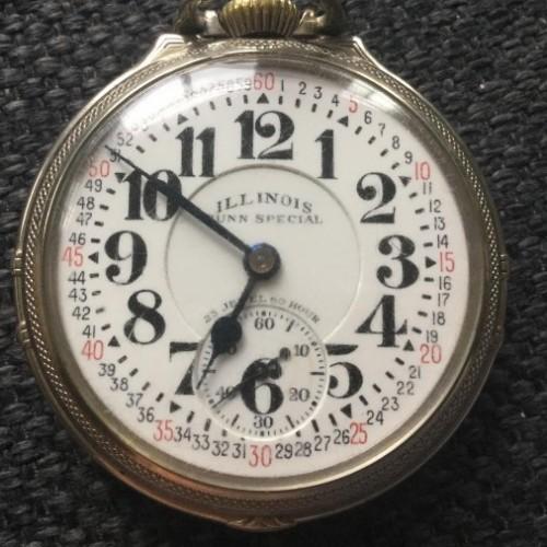 Illinois Grade 163 Bunn Special Pocket Watch Image