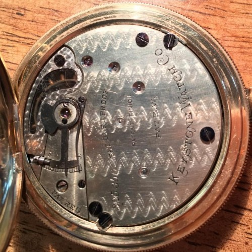 Keystone Standard Watch Co. Grade 1890 Pocket Watch Image