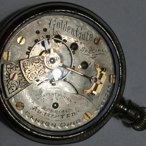 Hampden Grade No. 47 Pocket Watch Image