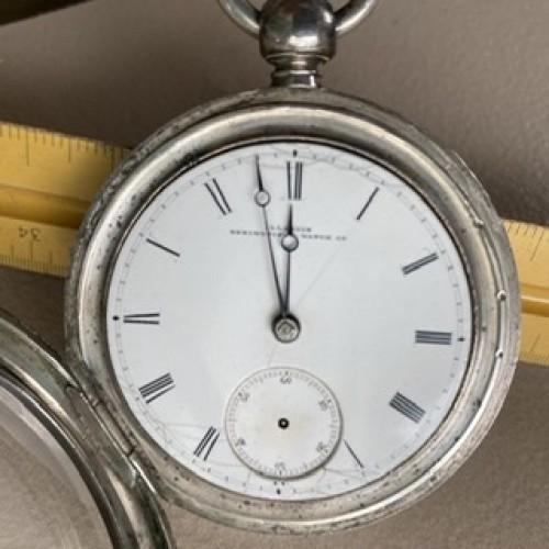 Illinois Grade Hoyt Pocket Watch Image