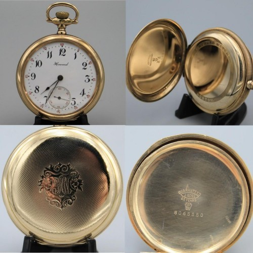 E. Howard Watch Co. (Keystone) Grade Series 3 Pocket Watch Image