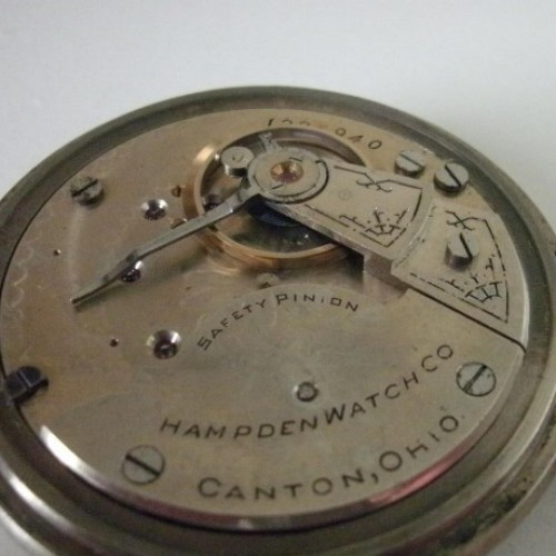 Hampden Grade No. 65 Pocket Watch Image