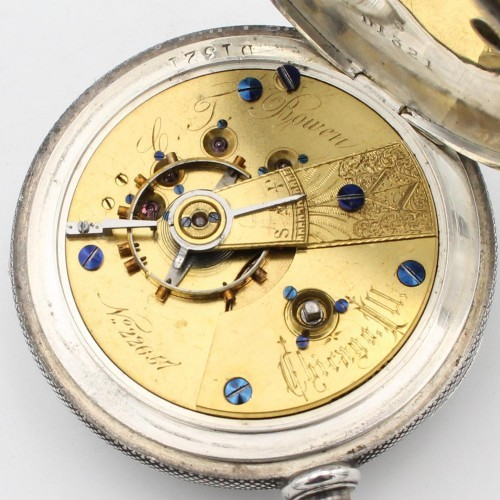 Cornell Watch Co. Grade C.T. Bowen Pocket Watch Image