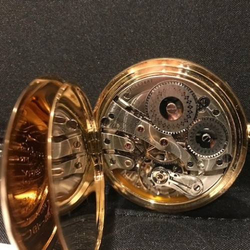 Waltham Grade Bridge Pocket Watch Image