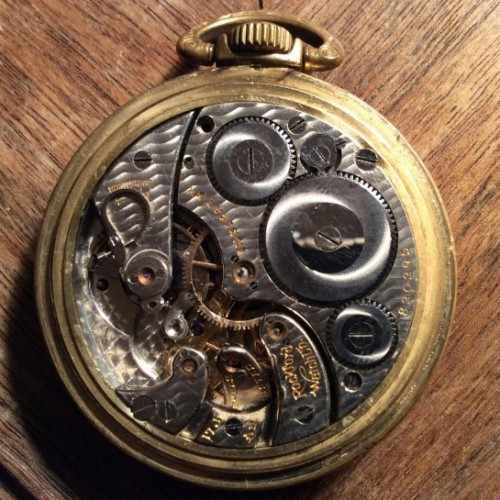 Rockford Grade 665 Pocket Watch Image