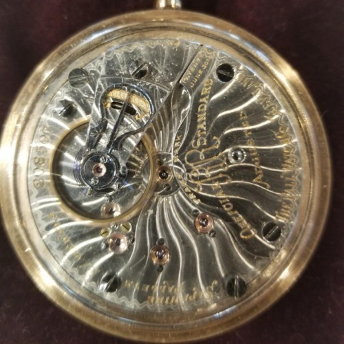 Image of Ball - Hamilton 999A #208507 Movement