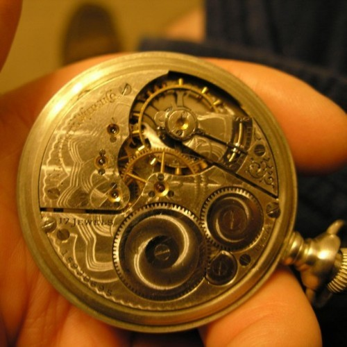 Elgin Grade 387 Pocket Watch Image