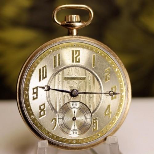 Hampden Grade The Minute Man Pocket Watch Image