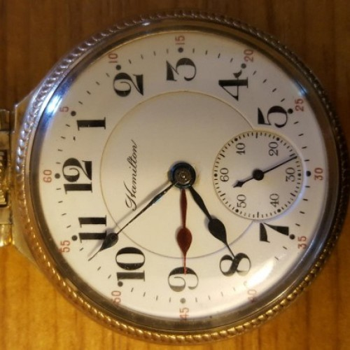 Hamilton Grade 992 Pocket Watch