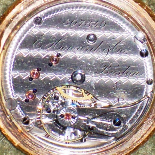 E. Howard & Co. Grade VIII Pocket Watch Image