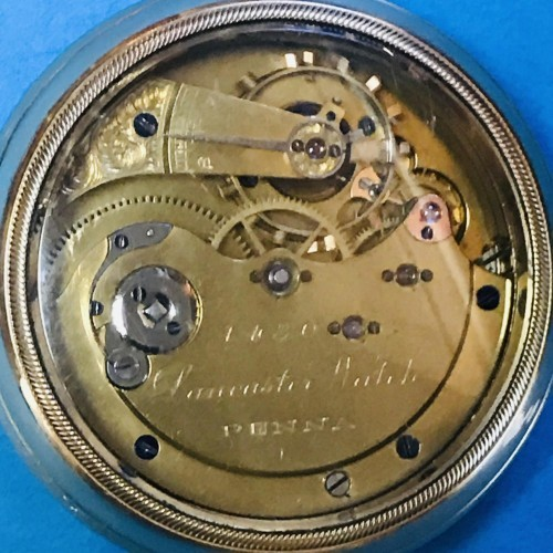 Lancaster Watch Co. Grade  Pocket Watch Image