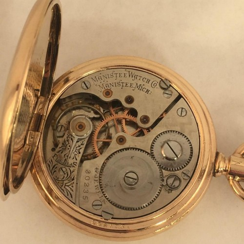 Manistee Watch Co. Grade Unknown Pocket Watch Image