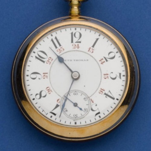 Seth Thomas Grade 260 Pocket Watch Image