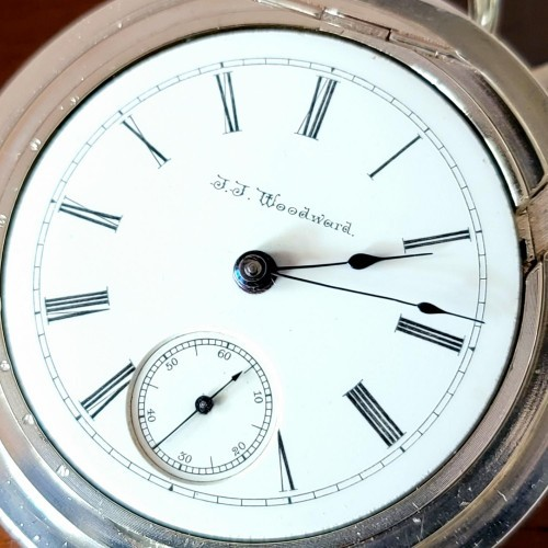 Seth Thomas Grade 58 Pocket Watch Image