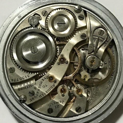 Illinois Grade 107 Pocket Watch Image