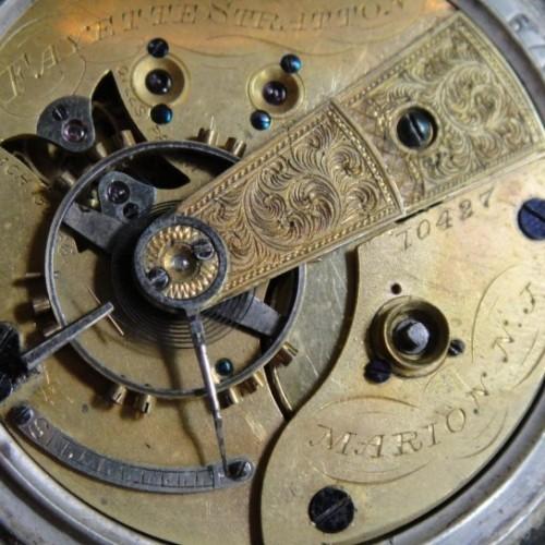 U.S. Watch Co. (Marion, NJ) Grade Fayette Stratton Pocket Watch Image