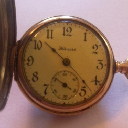 Illinois Grade 33 Pocket Watch Image