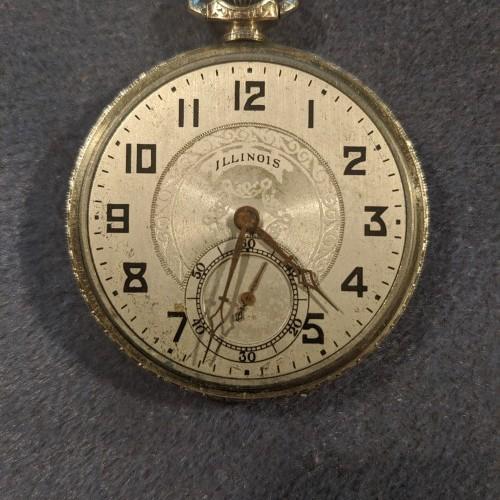 Illinois Grade 279 Pocket Watch Image