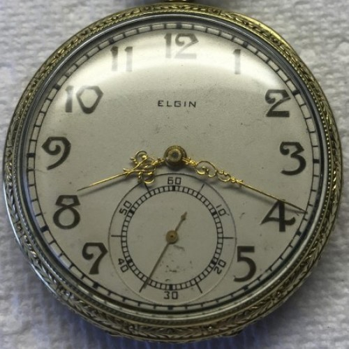Image of Elgin 345 #29857390 Dial