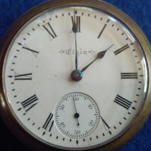 Elgin Grade 207 Pocket Watch Image