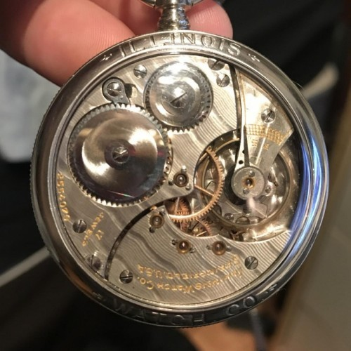 Illinois Grade 604 Pocket Watch Image