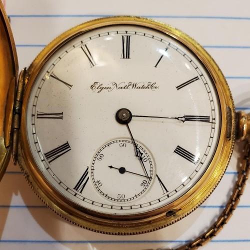 Elgin Grade 33 Pocket Watch Image