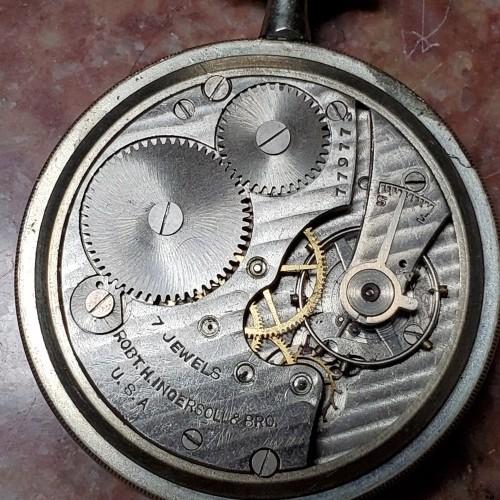 Ingersoll Watch Co. Pocket Watch Grade  #77977