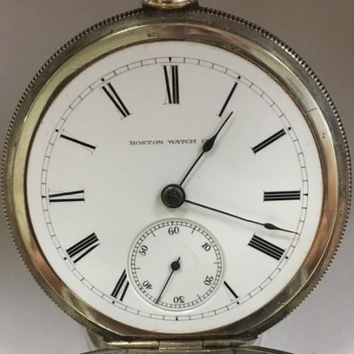 Boston Watch Co. Grade  Pocket Watch Image