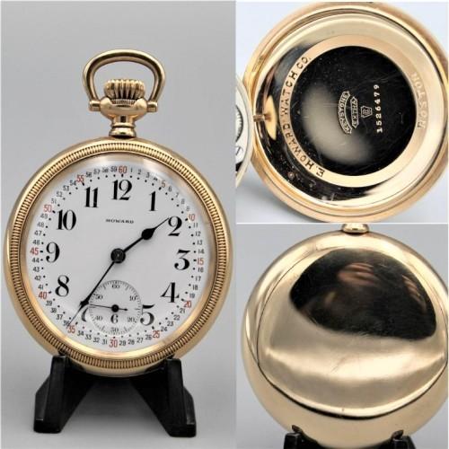 E. Howard Watch Co. (Keystone) Grade Series 11 Pocket Watch