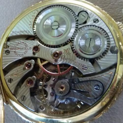 Illinois Grade Autocrat Pocket Watch Image